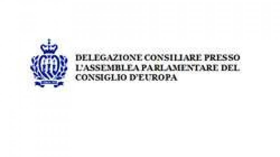 Delegazione Sammarinese Consiglio d'Europa: comunicato stampa Strasburgo