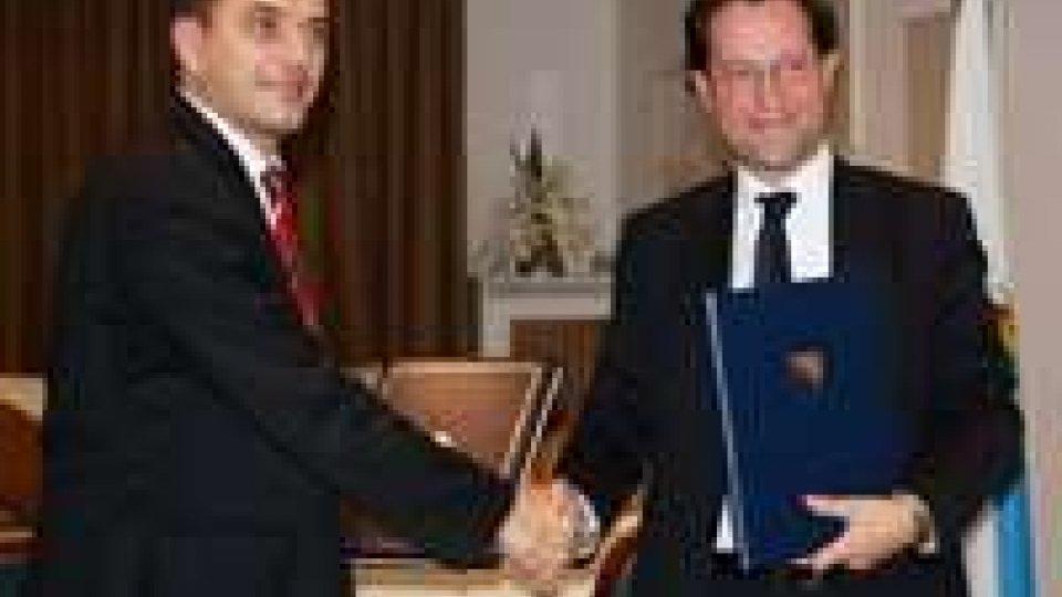 Trasporti: il Segretario Arzilli ha firmato a Roma l'accordo con Bosnia-Erzegovina