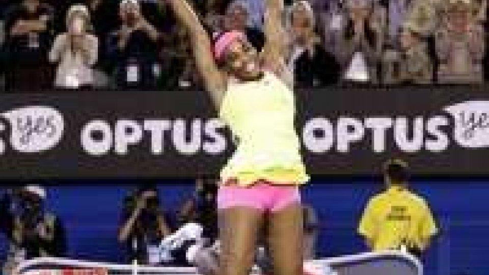 Australian Open: trionfa Serena Williams
