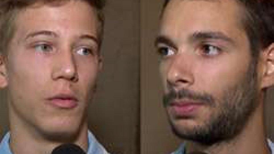 """Michele Ceccaroni e Luca GhiottiUniversiadi, Ceccaroni e Ghiotti: """"Puntiamo a migliorare il nostro ranking"""""""