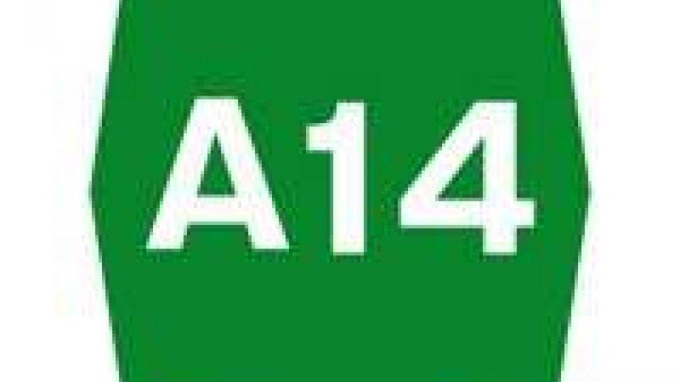 A14: chiusure notturne per Cattolica e Rimini sud