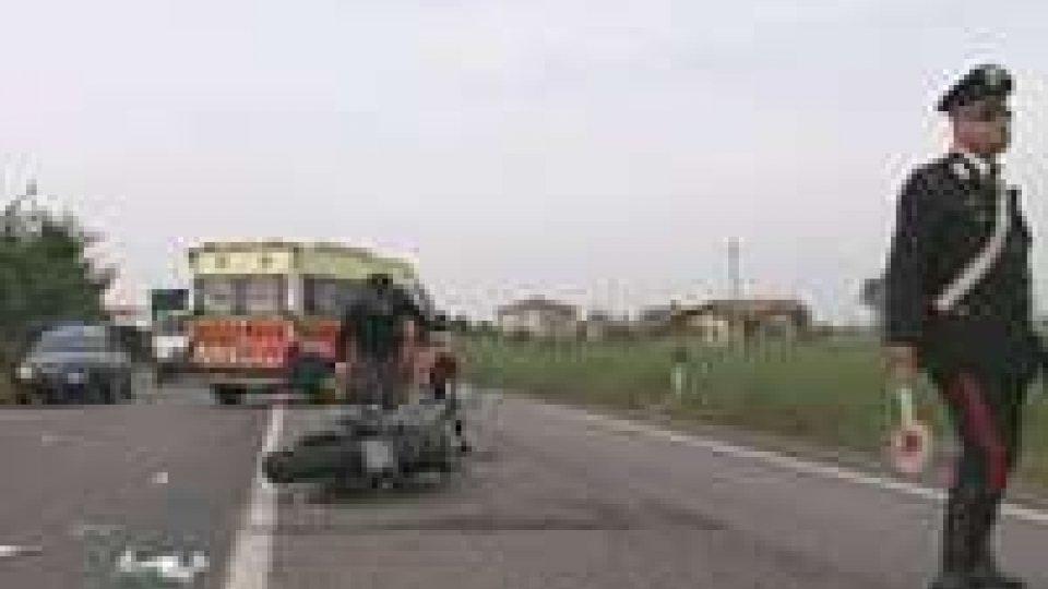 Incidente sulla Tolemaide: coinvolte un auto e una moto