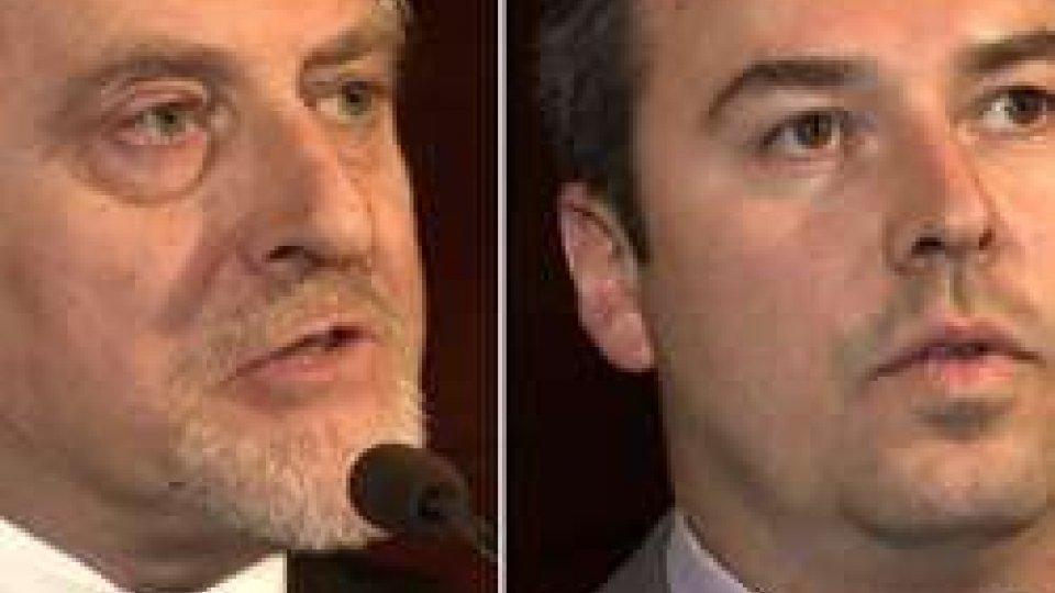Gian Carlo Venturini e Teodoro LonferniniCongresso Pdcs: intervengono i candidati alla Segreteria