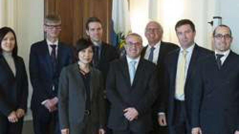 foto ufficiale visita Fmi
