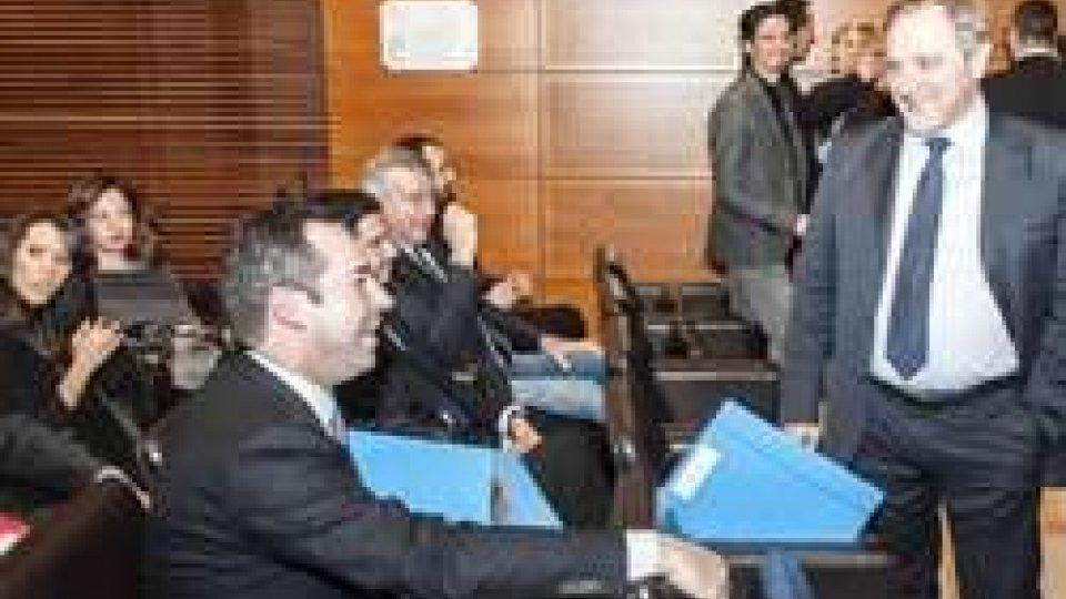 i candidati Teodoro Lonfernini e Giancarlo Venturini