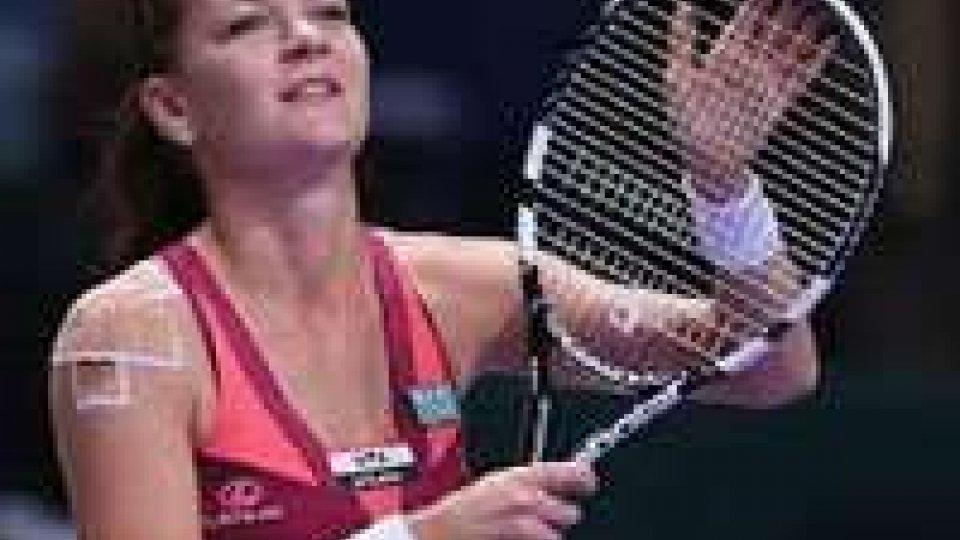 Tennis: Wta, Sidney. Finale sarà Radwanska(nella foto)-Cibulkova