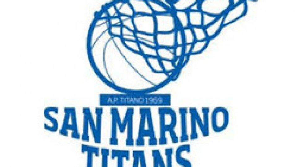 San Marino Titans: domani sera Tolentino-Titans