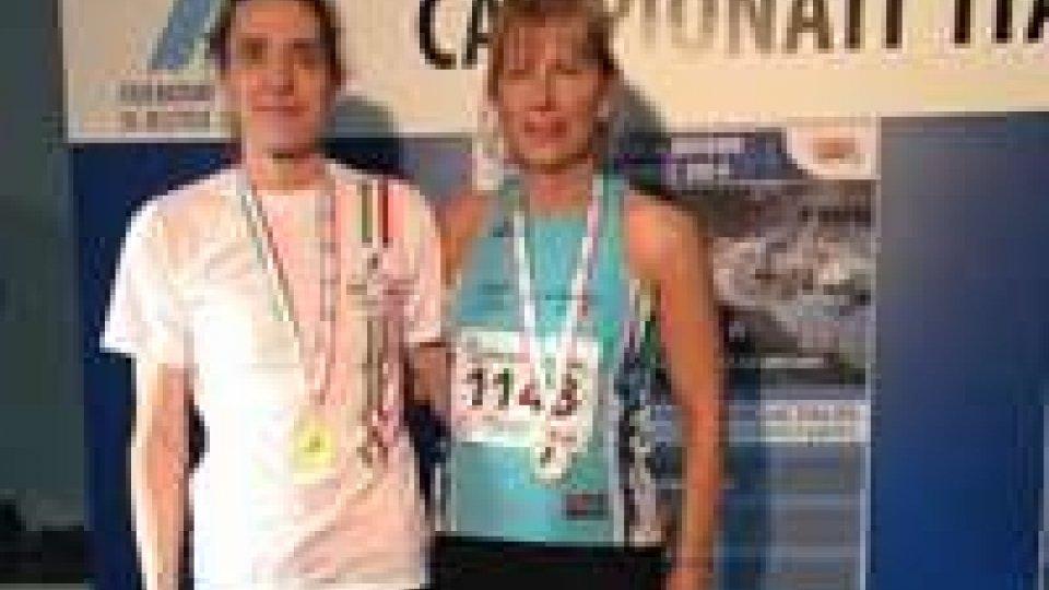 Paola Carinato d'argento ai Master Indoor di Ancona