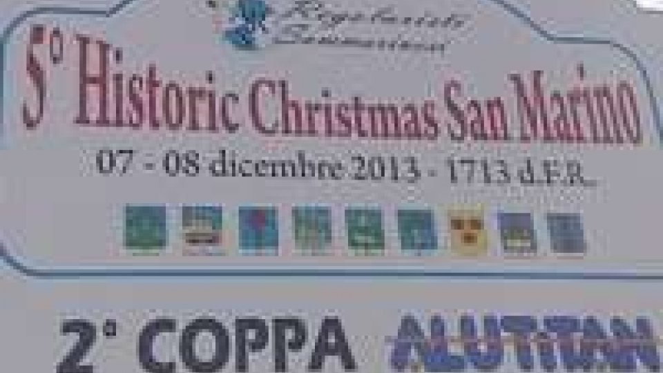 San Marino: al via Historic Christmas