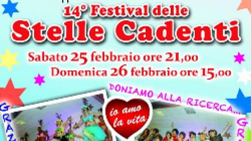Villa Verucchio: 25 e 26 febbraio torna il Festival delle Stelle Cadenti per solidarietà