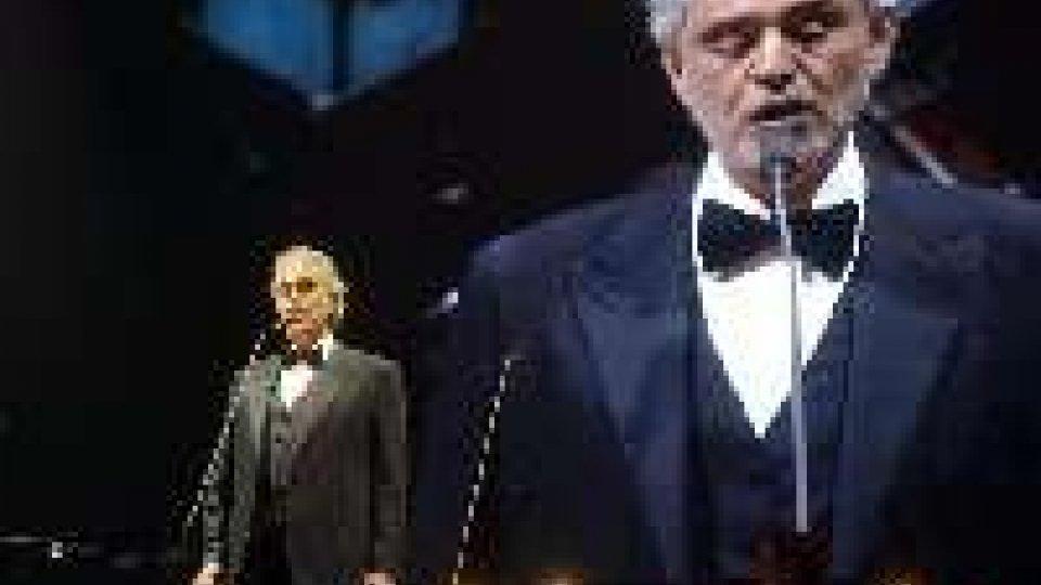 Bocelli nella playlist della Casa Bianca