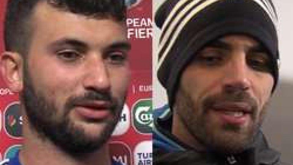 Mattia Stefanelli e Aldo SimonciniSan Marino - Germania 0-8 le interviste