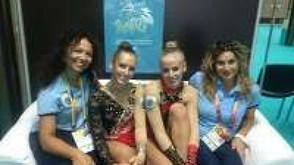 Giulia Di Lorenzo e Elisa Cavalli ai mondiali di KievGiulia Di Lorenzo e Elisa Cavalli ai mondiali di Kiev