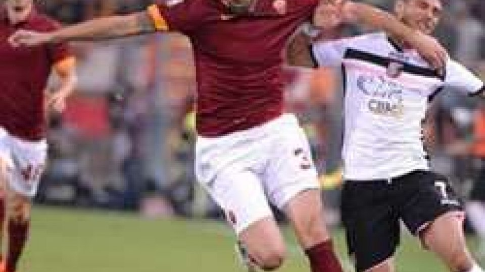 Roma senza Totti batte 5-0 il Palermo