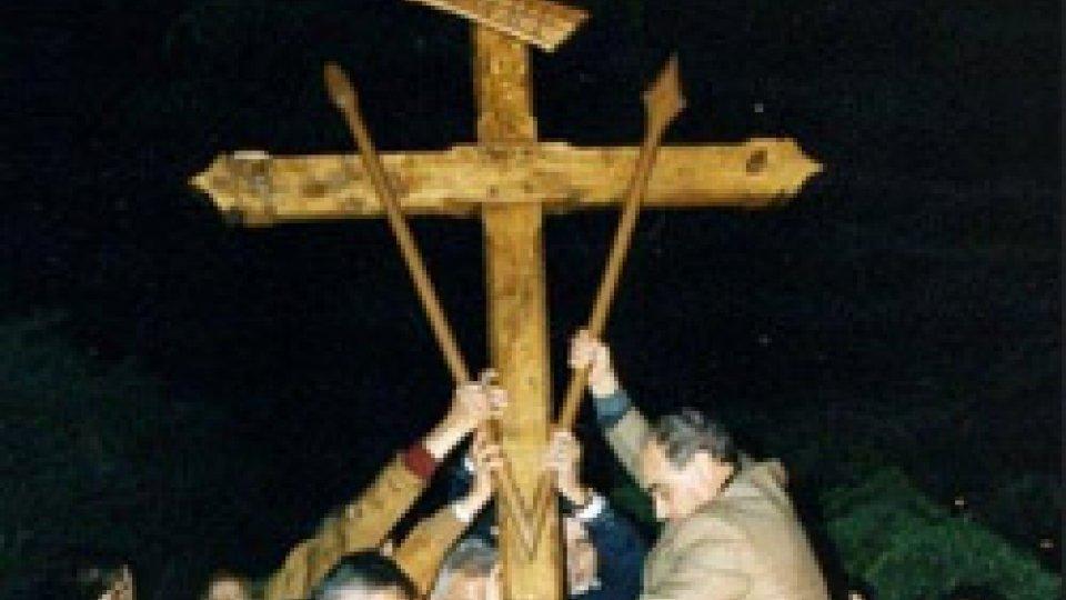 la croce di Serravalle
