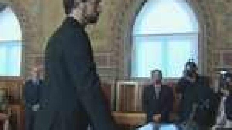 Giacomo Nicolucci presta giuramentotribunale