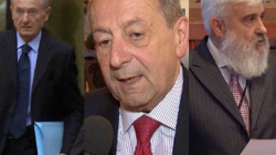 Gabriele Gatti, Clelio Galassi e Paride AndreoliProseguono le indagini su Paride Andreoli, a processo Gatti e Galassi
