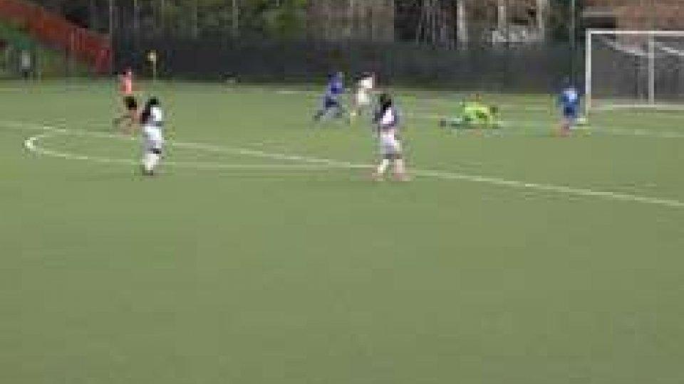 San Marino Academy ImoleseLa San Marino Academy batte 3-0 l'Imolese con doppietta di Simona Cimatti e gol di Alessia Prenga