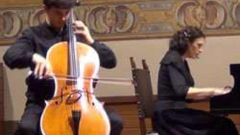 Francesco StefanelliSan Marino debutta all'EYM 2016 con il violoncellista Stefanelli