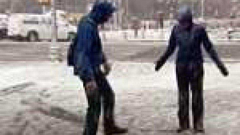 Tempesta di neve su alcuni Stati americani