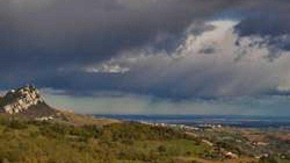 Nuvole sul Titano