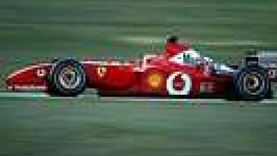 In mostra la Ferrari F2001