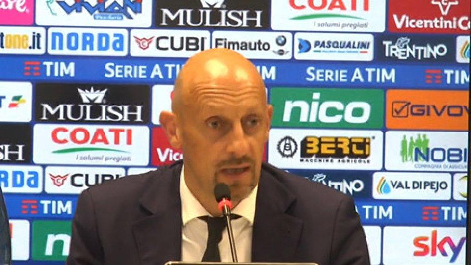 Di CarloChievo-Milan 1-2, lo sfogo di Di Carlo nel dopo partita