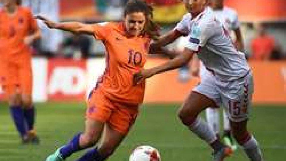 Olanda - Danimarca 4-2