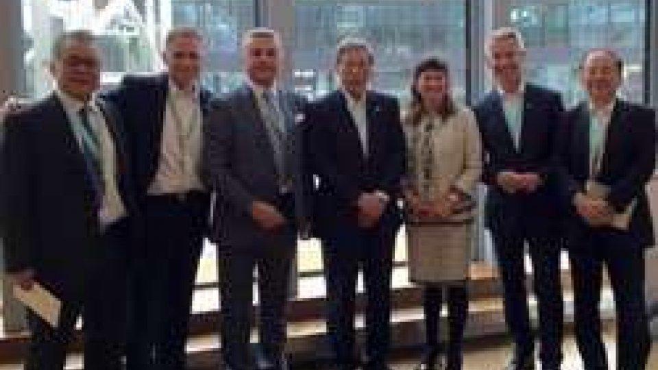 Mularoni ad Amburgo incontra i vertici del gruppo Mitsubishi