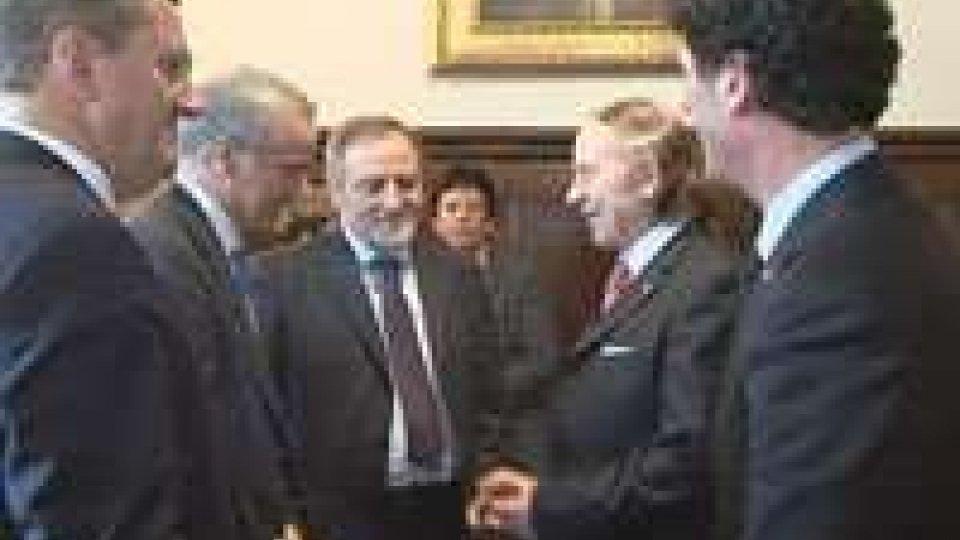 San Marino: protocollo d'intesa tra Commercialisti Rsm-Ita, vertici ricevuti dalla Reggenza
