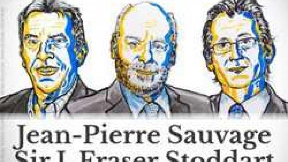 Sauvage, Stoddart e Feringa