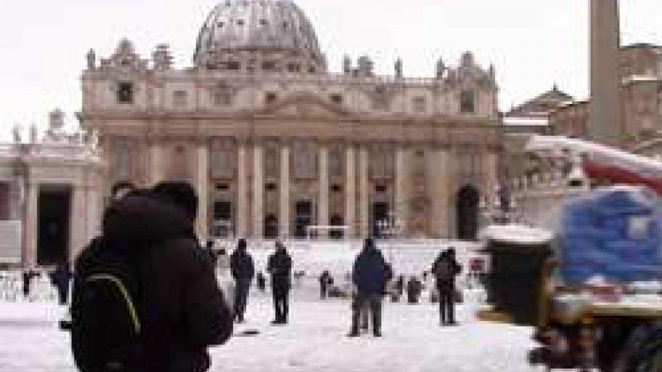 San Pietro imbiancata