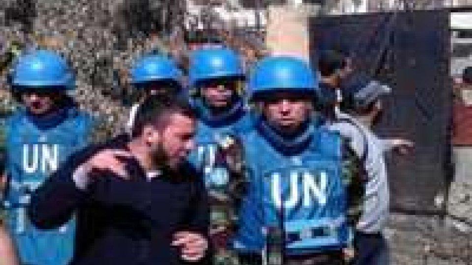 Nove civili uccisi oggi dalle forze governative in Siria