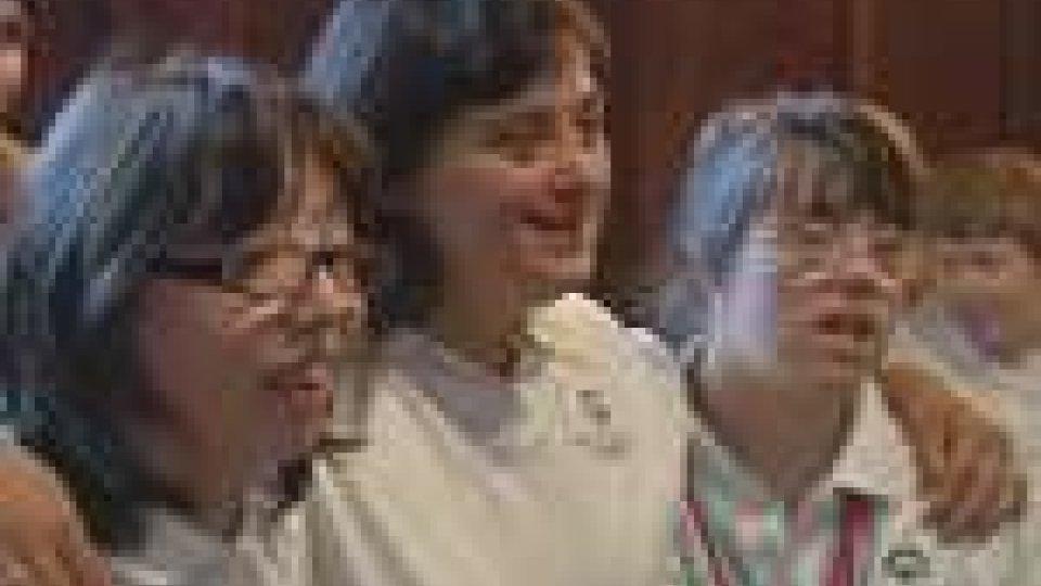 San Marino - Special Olympics: gli atleti per la Danza Sportiva dai Reggenti