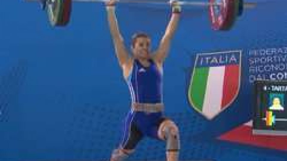 Carol TartagliaSollevamento Pesi: Tartaglia d'argento ai Campionati italiani