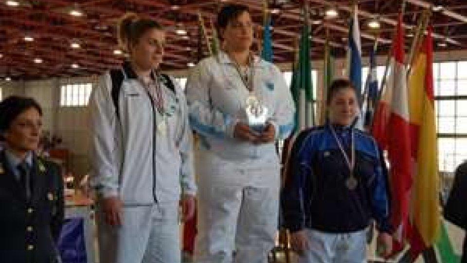 San Marino - Jessica Zannoni 5° nelle finali Coppa Italia Judo