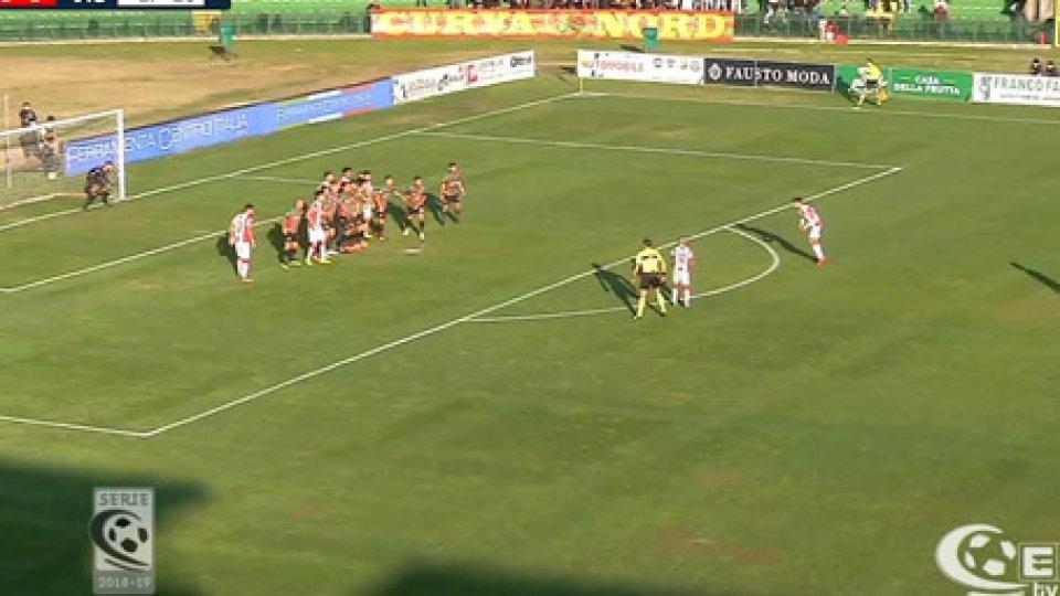 Ternana-VicenzaSerie C: Seconda sconfitta consecutiva della Ternana contro il Vicenza, la prima di fronte al proprio pubblico