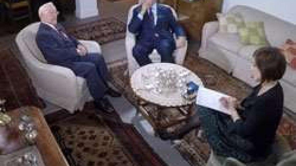 """San Marino RTV, puntata speciale di """"Italiani di Carta"""" con Sergio Lepri e Paolo Mieli"""