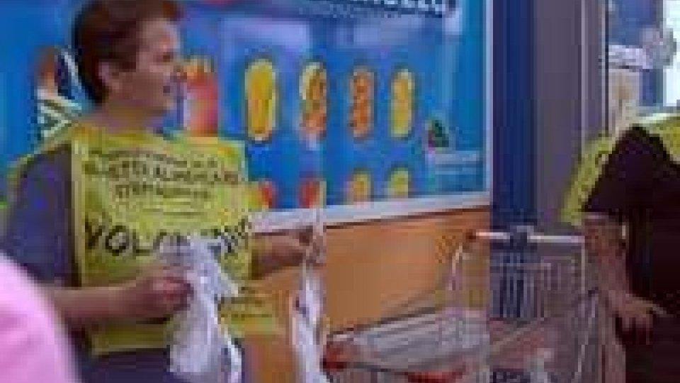 San Marino: colletta alimentare straordinaria, donati 9.642 chili di cibo