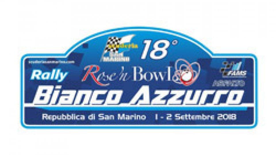 Tutto pronto per il 18° Rally Bianco Azzurro
