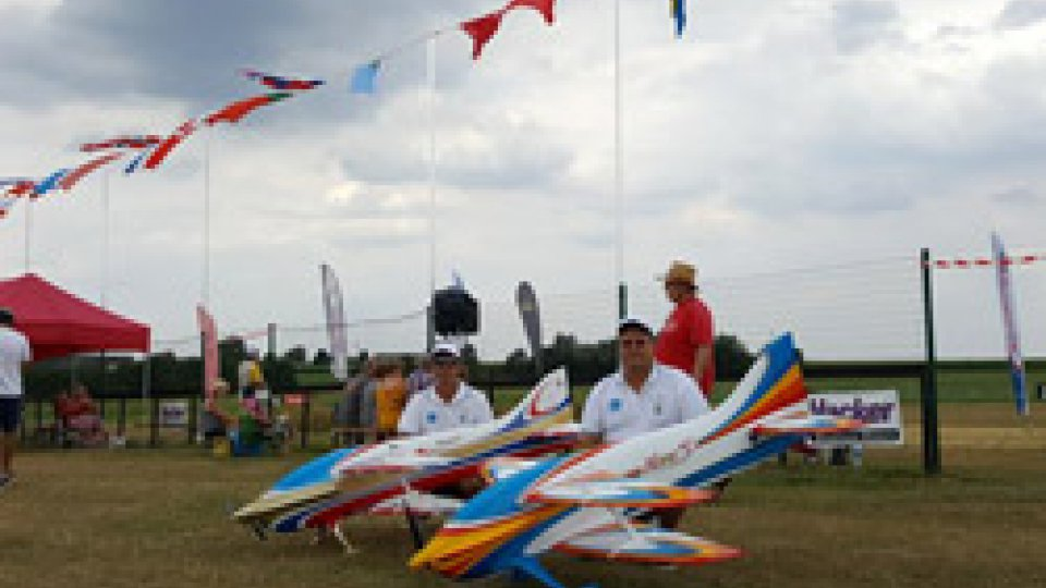 Aerobatic Team San Marino: campionati Europei di F3A del Belgi