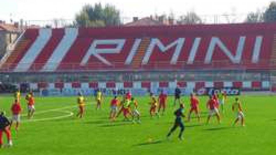 L'amichevole tra Rimini e San Marino finisce 1-1