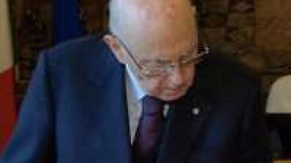 Notte di riflessione per Napolitano, M5S chiede l'incarico