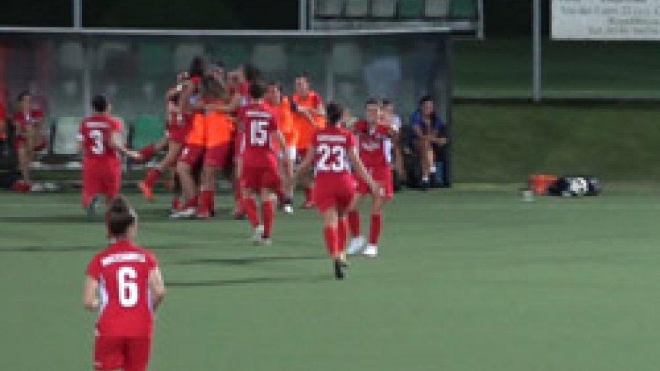 San Marino AcademyCalcio femminile: il derby sorride alla San Marino Academy