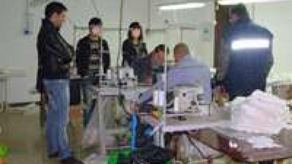 Finanza scopre Chinatown del tessile a Ferrara.