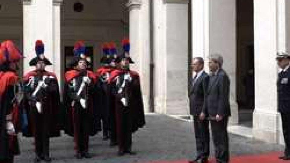Donald Tusk incontra GentiloniA Roma Donald Tusk incontra Gentiloni: Brexit e bilancio Ue le priorità