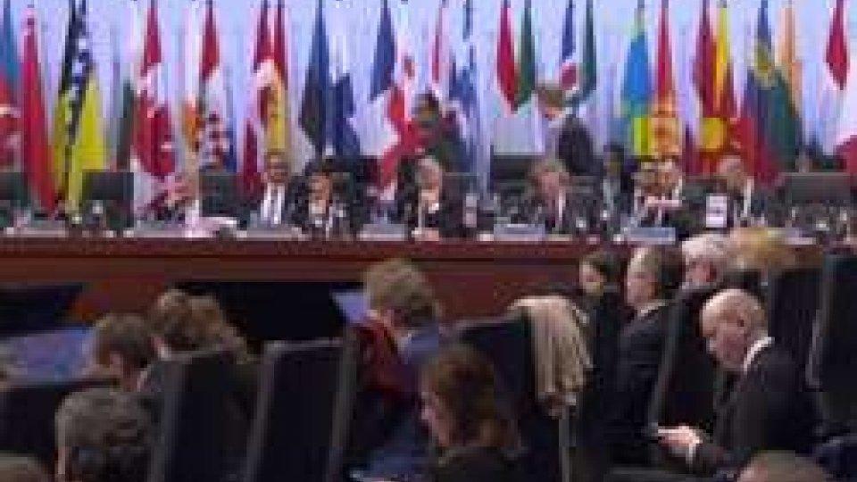 Consiglio Ministeriale dell'Organizzazione per la Sicurezza e la Cooperazione in EuropaOsce: Steinmeier, pace Europa vulnerabile
