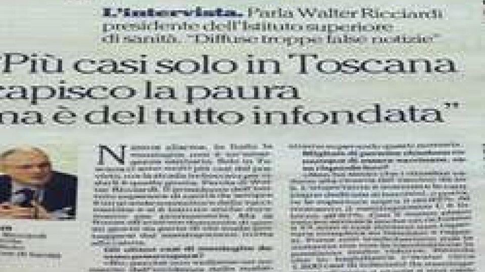 "Meningite: ""La paura è infondata"" dice Ricciardi"