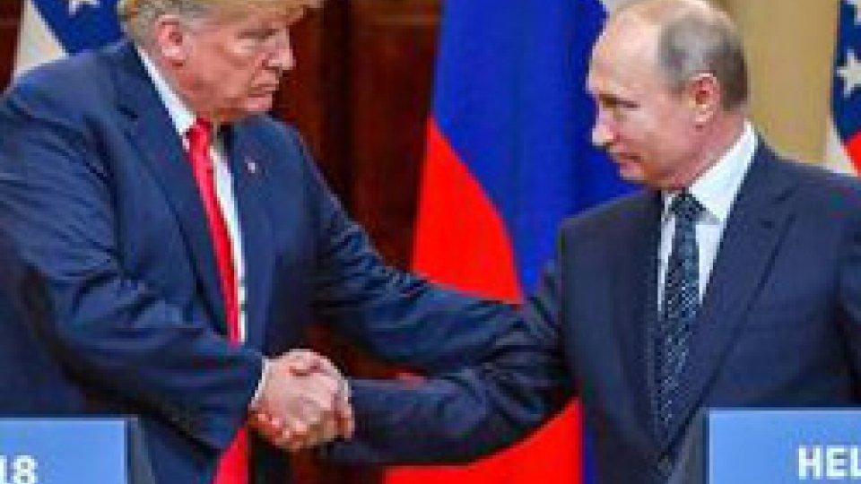 """Incontro Trump-PutinIncontro Trump-Putin: avviato il """"disgelo"""" tra le due Potenze"""