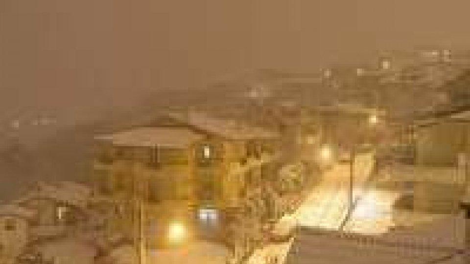 Neve: nessun problema a San Marino. Disagi nel Circondario